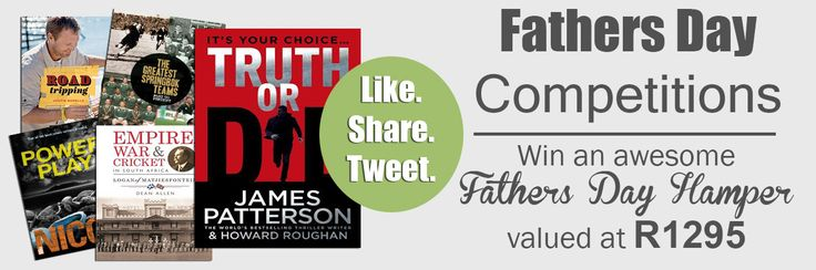 Enter our amazing Father's Day Competition with prizes from @PenguinBooksSA