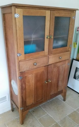 Antique-tall-sideboard-buffet