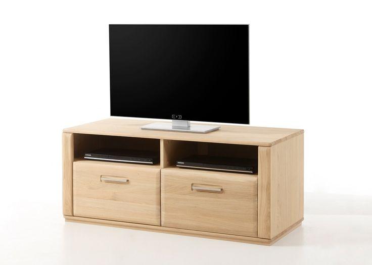 Lowboard Eiche Bianco Asti TV-Schrank Phonomöbel Holz 21358. Buy now at https://www.moebel-wohnbar.de/lowboard-eiche-bianco-asti-tv-schrank-phonomoebel-holz-21358