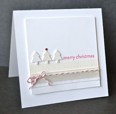 Use this as Christmas page layout ....using white on white...and the bakers twine