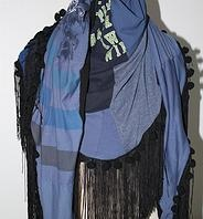 recycle shawl