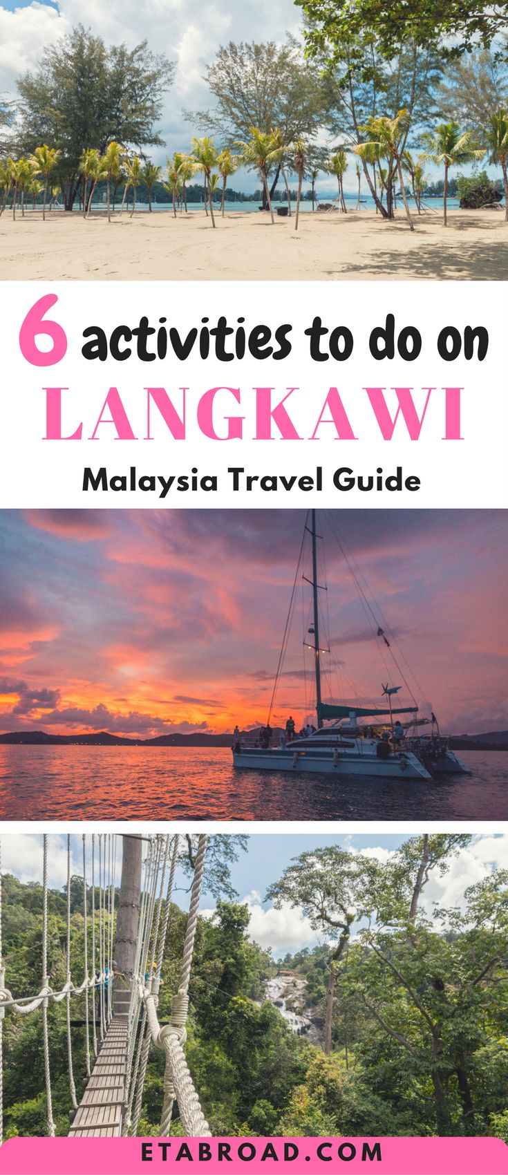 Langkawi, beautiful island in Malaysia can offer a lot of things to do. You could spend the weeks to discover everything. Here is a list of 5 Best activities you can do on Langkawi. #Malaysia #Lagkawi #Travel #LangkawiActivities #bucketlist #wanderlust