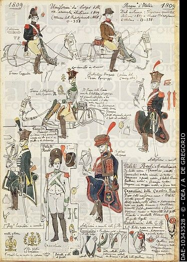 Italians in Napoleonic armies - Cerca con Google