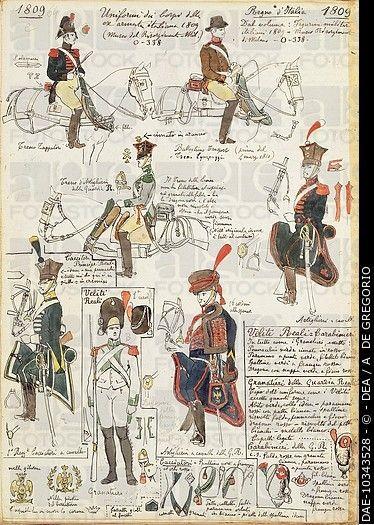Italians in Napoleonic armies - Cerca con Google