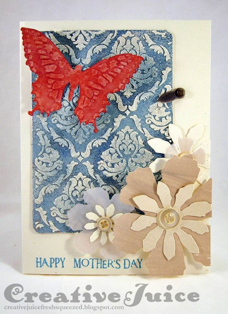 Lisa-Hoel_embossing-paste-Mother's-Day-card
