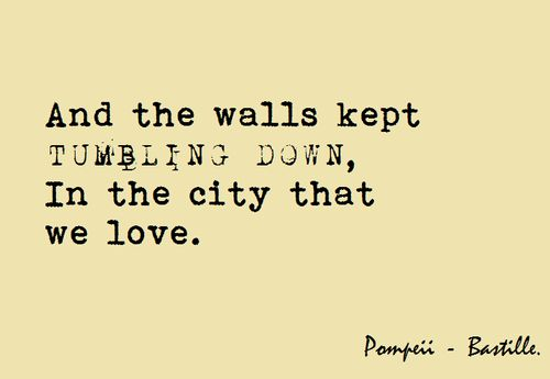 Best song, Pompeii-bastille