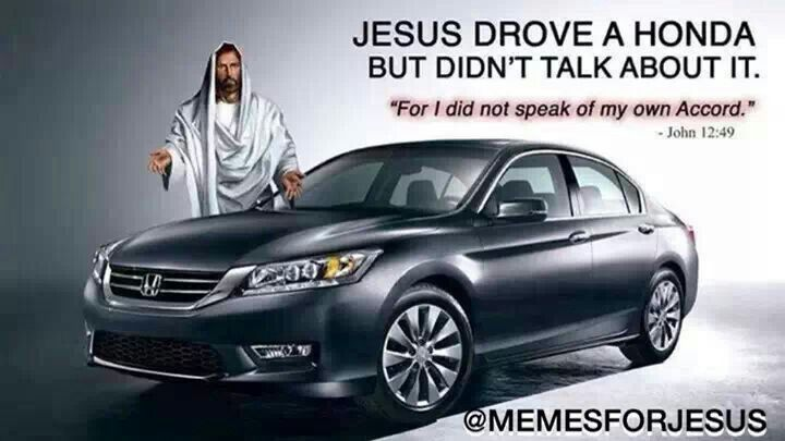 honda accord jesus style religious posts pinterest
