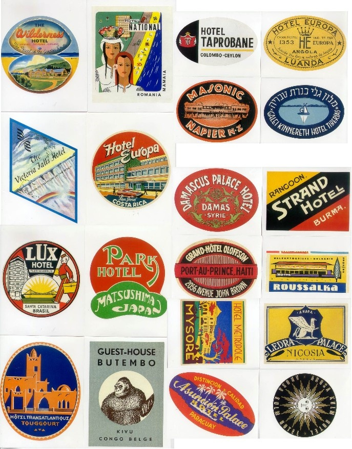 25+ Best Ideas about Luggage Stickers on Pinterest ...