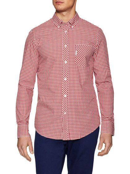 Fashion Gingham Sportshirt by Ben Sherman at Gilt