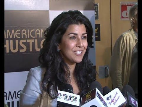 LUNCH BOX actress Nimrat Kaur at AMERICAN HUSTLE special screening.