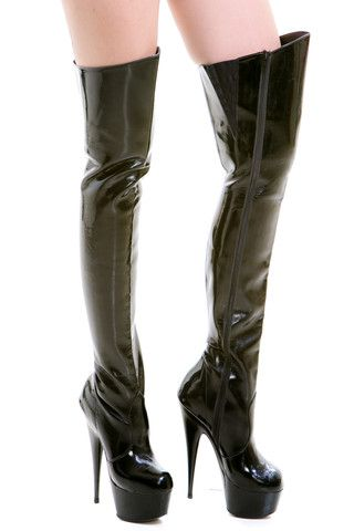 Vintage Pretty Woman Thigh High Boots Us 55 Schtuff