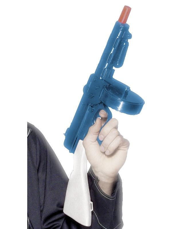 20-luvun gangsterin konepistooli.