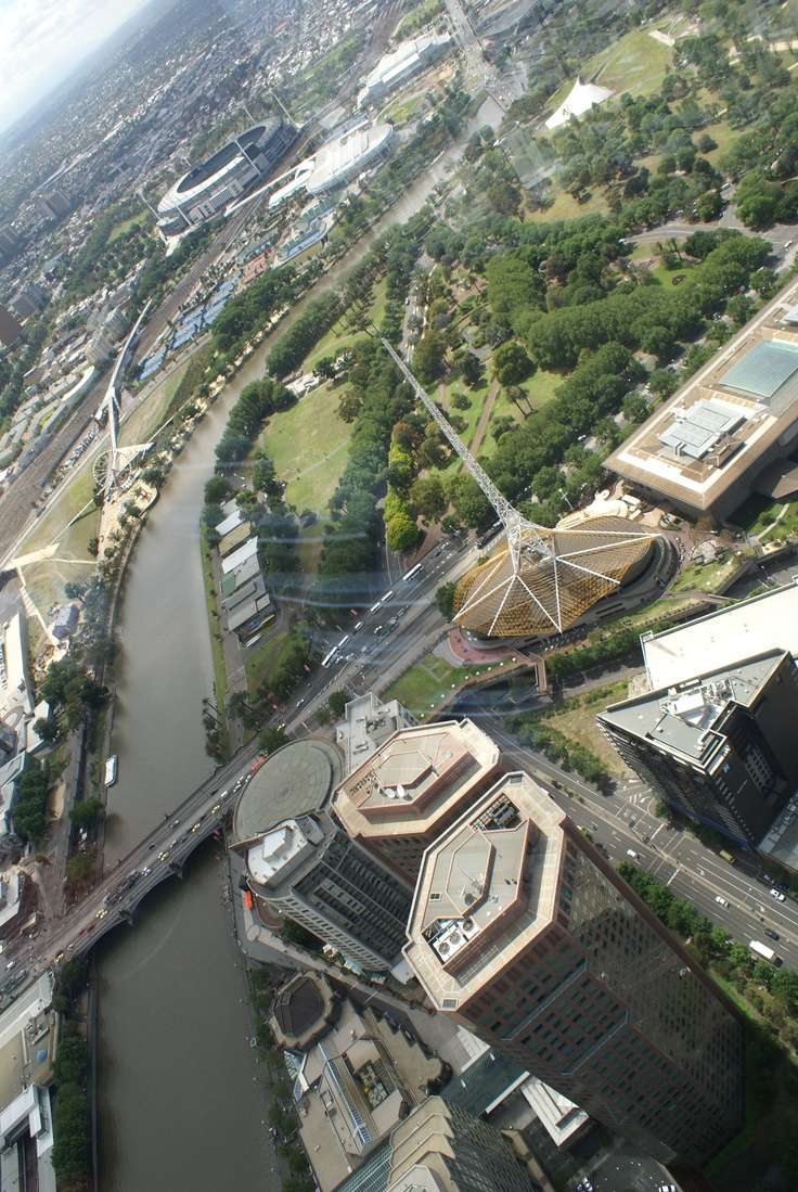 A view from Eureka Tower