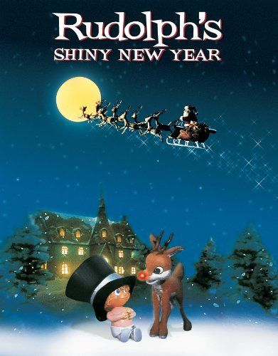Rudolph's Shiny New Year - watching it right now on ABC Family. I am obsessed with all the Rankin and Bass stopmotion holiday tv specials. Christmas wouldn't be the same without them!!!!