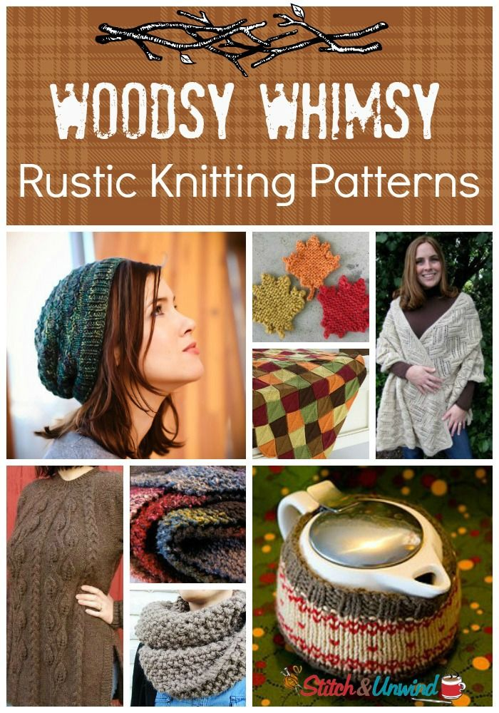 Rustic Round-Up: 25 Free Knitting Patterns Full of Woodsy Whimsy