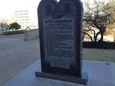 BREAKING: 10 Commandments statue must be removed from THIS state Capitol! - Allen West Republic