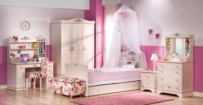 17 mejores im genes sobre decoraci n dormitorios - Habitacion infantil rosa ...