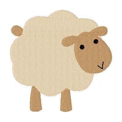 Design de broderie Machine moutons Nativité par JoyfulStitchesEtsy