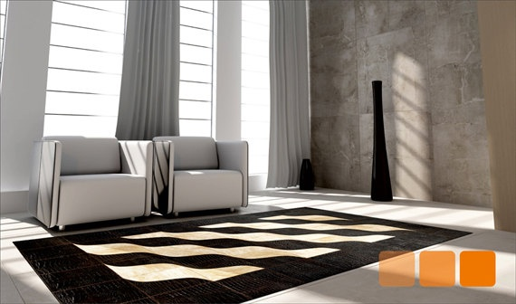 leather rug s line by FurHome