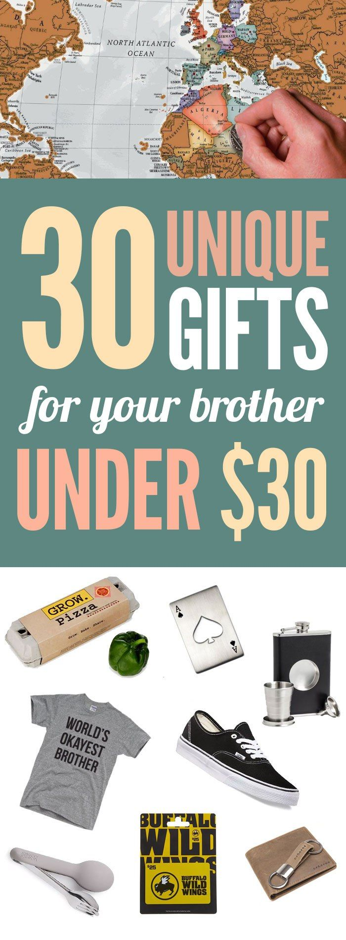 30 Unique Gifts For Brothers All Under $30