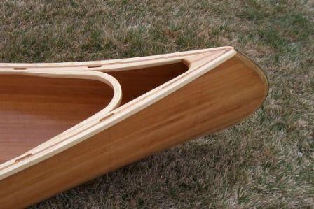 Cedar Strip Canoe Detail