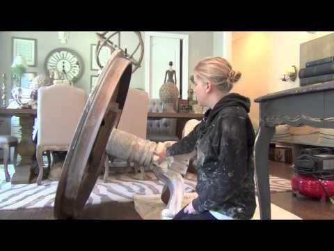Get The Weathered Wood Look for Your Furniture - Chalk Paint Tutorial - DIY Joy