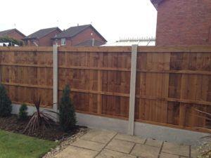 Single Feather Edge Fence Panels