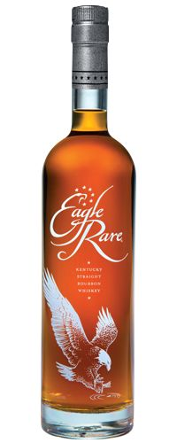 Eagle Rare Bourbon Whiskey is masterfully crafted and carefully aged for no less than ten years. Every barrel is discriminately selected to offer consistent flavor but with a seemingly individual pers