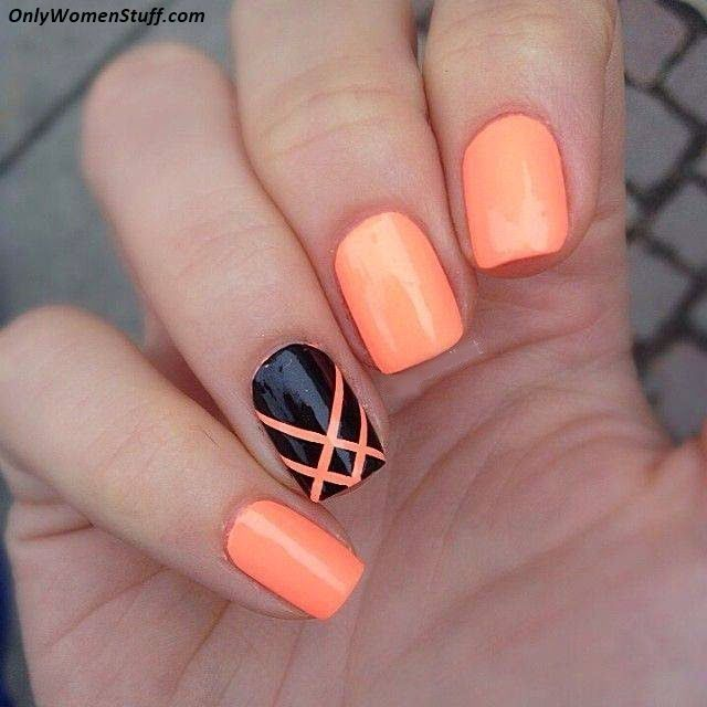 15 Easy And Simple Nail Art Designs For Beginners To Do At Home Nails Nail Designs Diy Nails