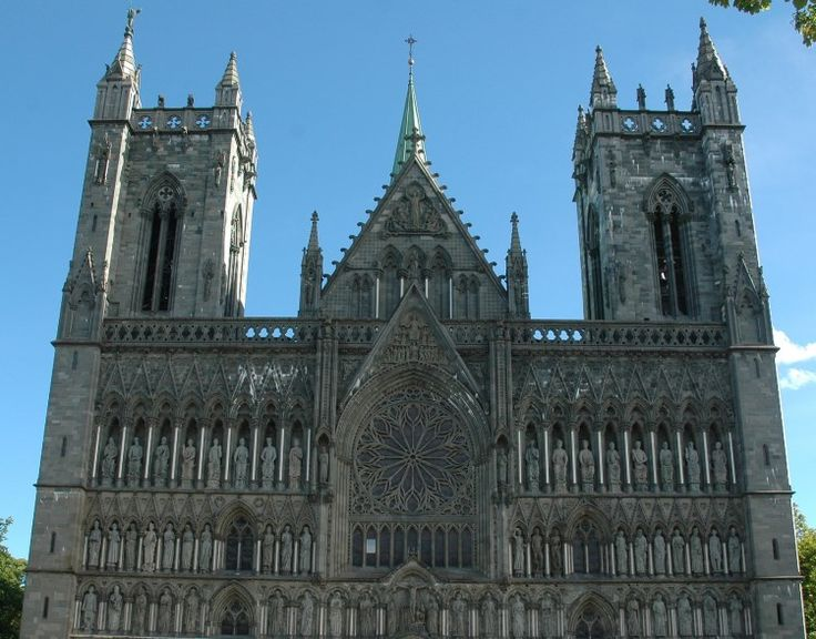 Top 10 Tourist Attractions in Norway----#7: Nidaros Cathedral