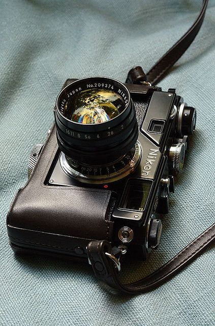 Vintage and Classic Nikon S-series 35mm rangefinder camera