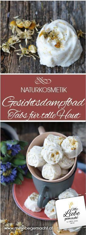 Beauty Spa For The Home – Facial Steam Tabs For Fresh, Pure Skin – #Bea …  –  Hautpflege-Rezepte