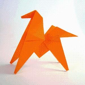 DIY Origami: DIY Origami Horse Instructions