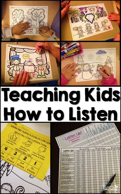 Listening activities that allow students to respond and reflect on their ability to listen attentively. Everything you need to collect data, track student progress and report  to parents how their child listens in class!
