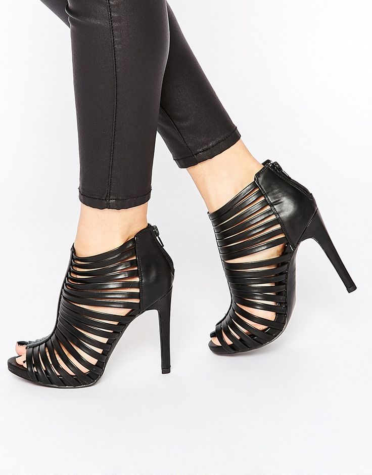 New Look Peep Toe Shoeboot Mid grey Women Shoesnew look flatsnew look boots knee highreliable supplier