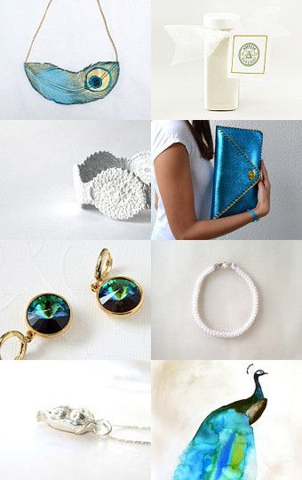 peacock by nadamlada on Etsy--Pinned with TreasuryPin.com