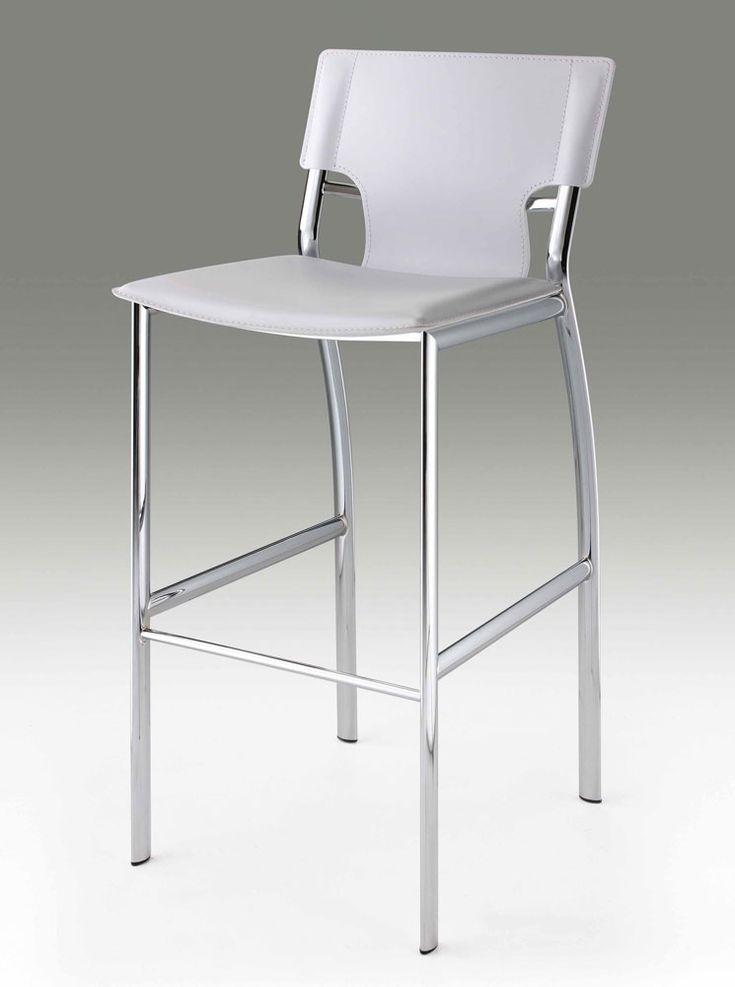 White Kitchen Stools best 25+ white leather bar stools ideas on pinterest | leather bar
