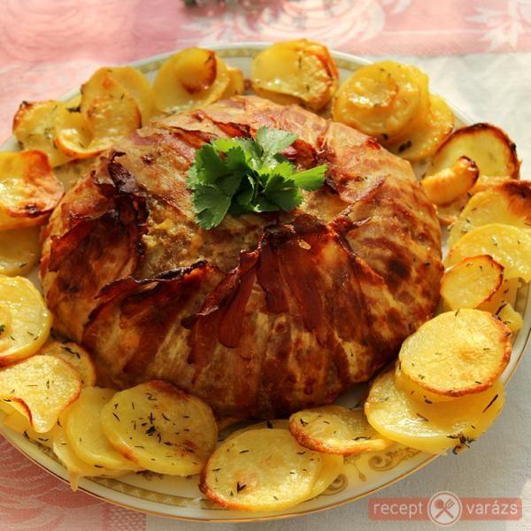 Darálthúsos karfiol-torta - Tepsis fasírt