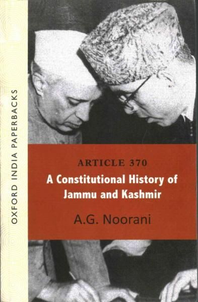 This book is a collection of documents on Article 370 of the Constitution of India, which contains provisions related to the state of Jammu Kashmir. It provides new insights on the negotiations preced