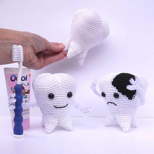 crochet tooth