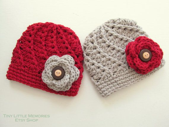 Ohio State Baby Hat OSU Buckeye Crochet Hat by TinyLittleMemories, $28.00