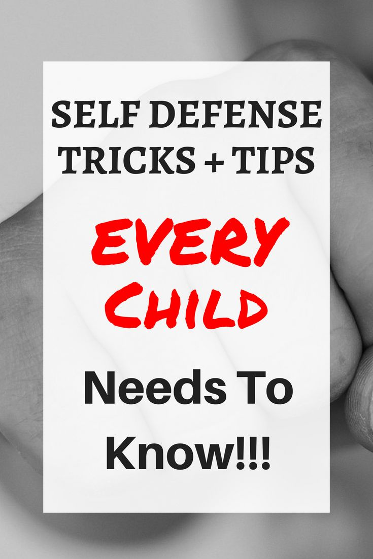 Teach your children these self defense tips and moves NOW to save their lives! Find great self defense moves for kids and even for girls. Learn to be safe and smart with these techniques! The post even has hacks and gadgets / weapons for women even moms that are absolutely life saving. #strongkids #selfdefense