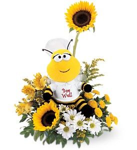 Found these flowers today when I was searching to send get well flowers to someone. Thought they were the cutest ever and had to pin for everyone to see! Enjoy!! :)