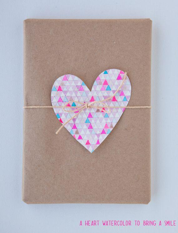 watercolour heart