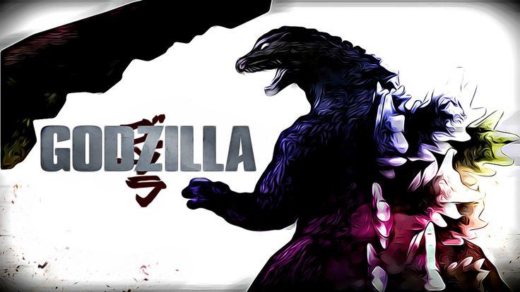 Godzilla Wallpaper Artsy edit by aquadesrtoyer on DeviantArt