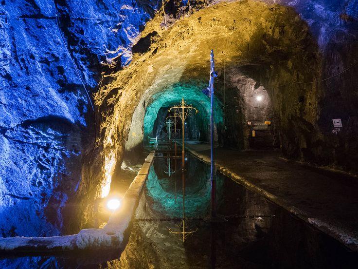 Salt Cathedral of Zipaquirá and Salt Mine of Nemocón, a journey 200 meters below…