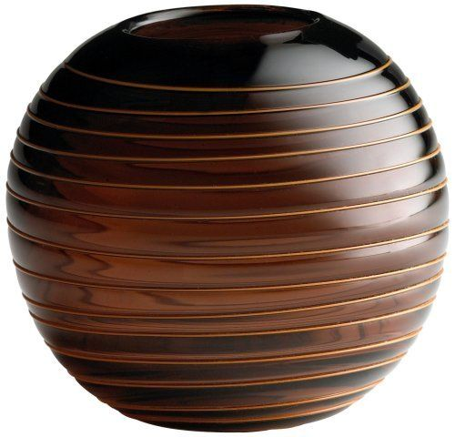 Small Round Raw Umber Glass Vesper Vase By Universal Lighting And Decor.  $37.91. Thanks
