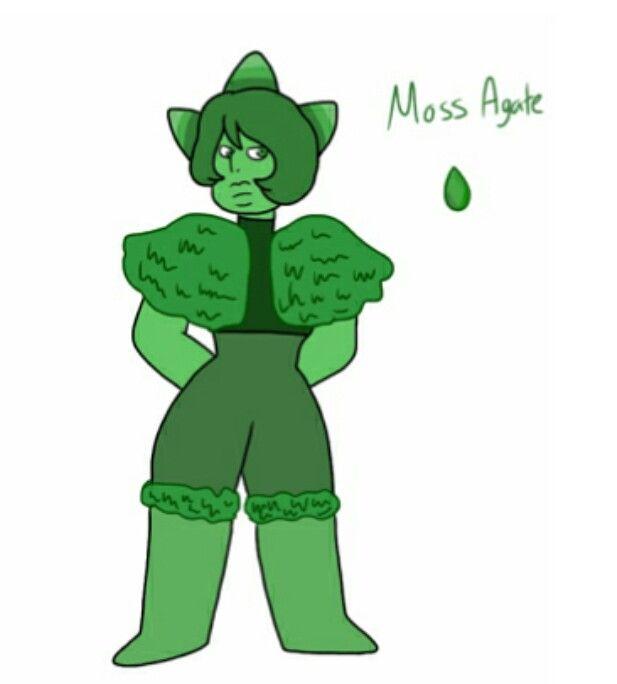 Moss Agate FanGem Steven Universe