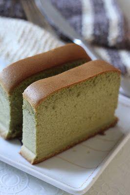Jane's Corner: 抹茶长崎蛋糕 (Matcha Castella Cake)