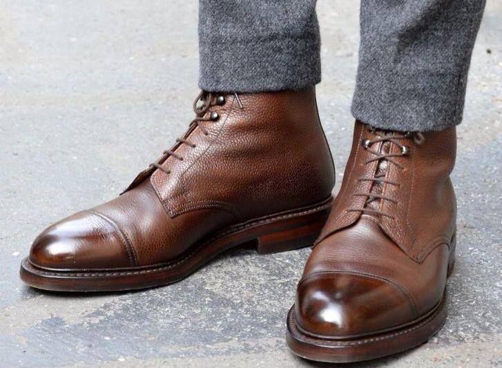 17 meilleures id es propos de bottes homme sur pinterest gq style hommes - Comment cirer ses chaussures sans cirage ...